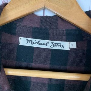 Michael Stars Tops - Michael Stars Women's Flannel Button-Front Shirt